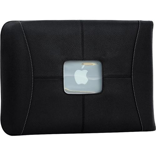 MacCase  Premium Leather Sleeve (Black) L15SL-BK