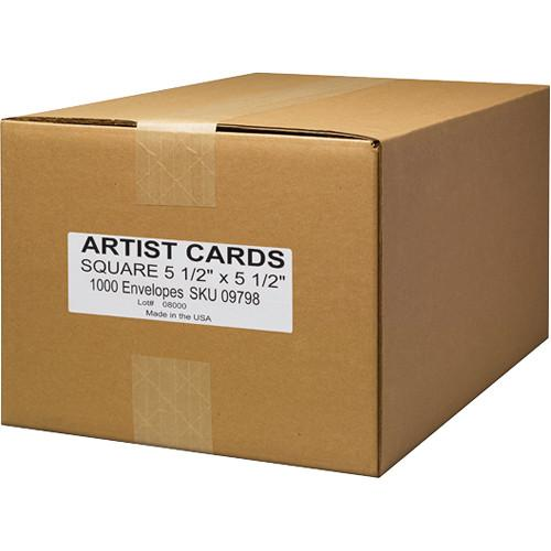 Museo Envelopes for Museo Square Artist Cards (1,000-Pack) 09798