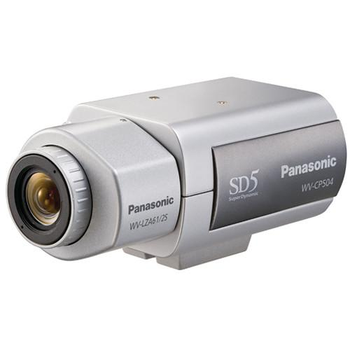 Panasonic WVCP504 Super Dynamic 5 Day/Night Camera WV-CP504