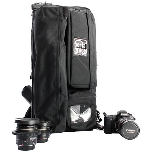 Porta Brace HC1-B Hiker Backpack Camera Case (Black) HC-1B