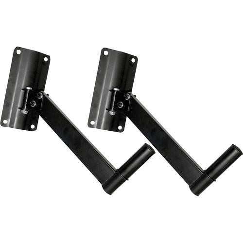 Pyle Pro PSTND6 Wall Mount Speaker Bracket (Pair) PSTND6