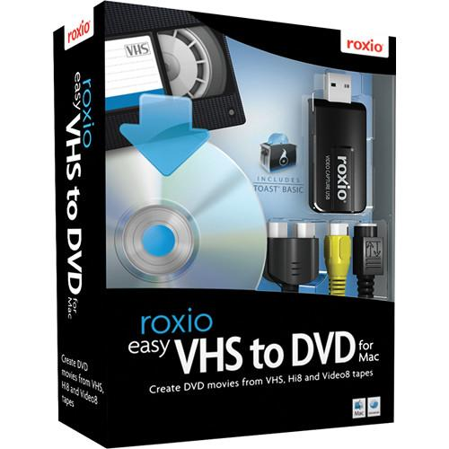 Roxio  Easy VHS to DVD for Mac 243100