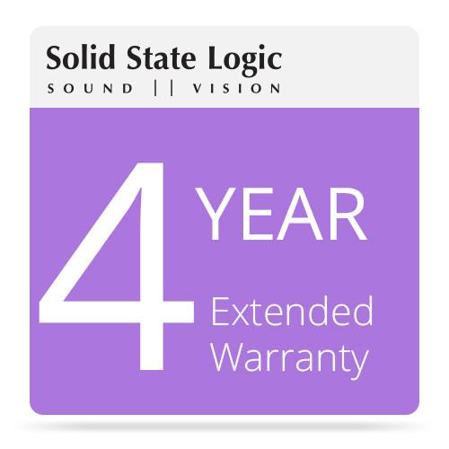 Solid State Logic 4-Year Extended Warranty 82S6SP060AX4