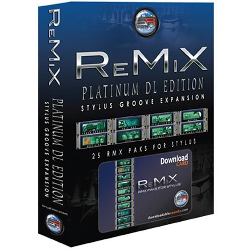 Sonic Reality ReMiX Platinum Edition SR-RMX-PLT-DL01