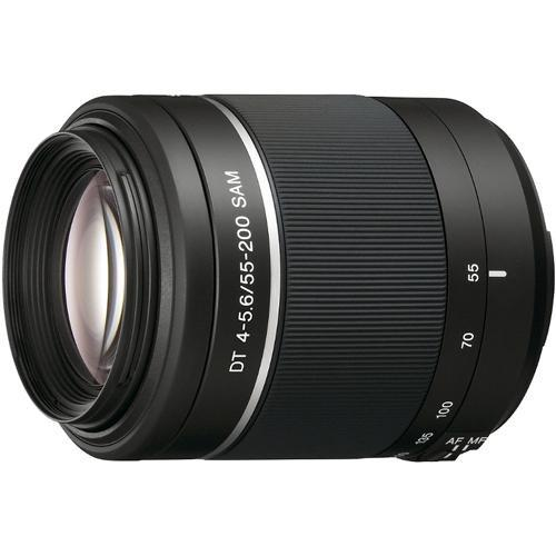 Sony 55-200mm f/4.0-5.6 DT Alpha A-Mount Telephoto SAL55200/2