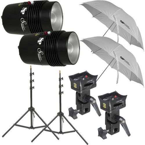 SP Studio Systems Basic 2-Light Studio Portrait Kit SPBPORTK
