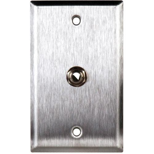 TecNec WPL-1109 Stainless Steel 1-Gang Wall Plate WPL-1109