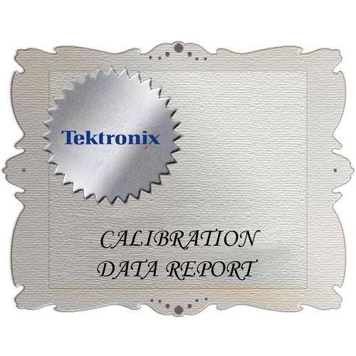 Tektronix D1 Calibration Data Report for HD3G7 HD3G7 D1