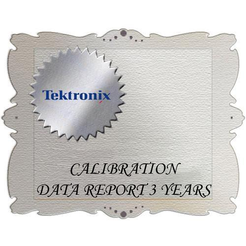 Tektronix D3 Calibration Data Report for 1741C 1741C D3