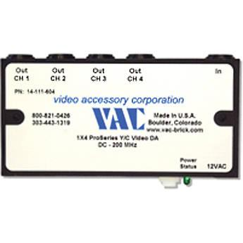 Vac 14-111-604 1x4 Y/C Distribution Amplifier 14-111-604