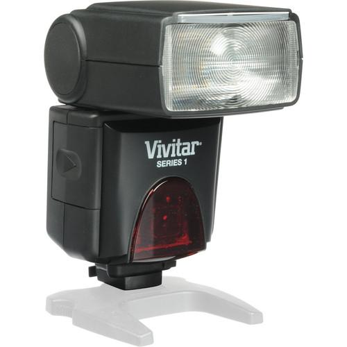 Vivitar DF-383 Series 1 Power Zoom AF Flash Kit for Canon